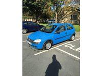 vauxhall corsa 2002 12 months mot 1.0