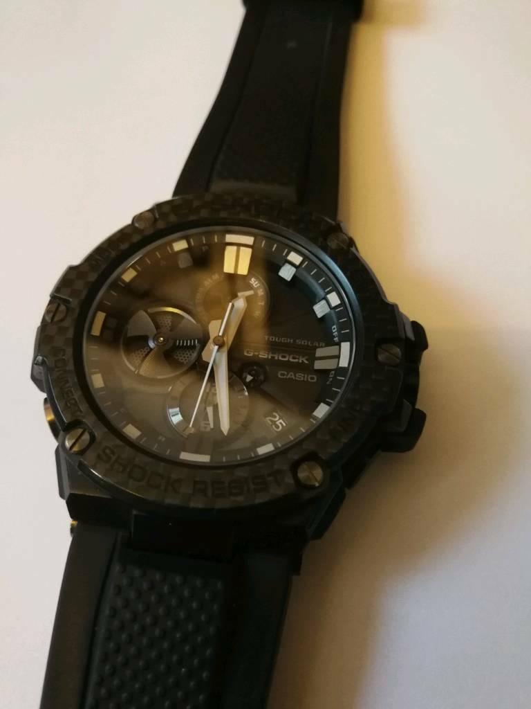9c170c3f468ca Casio carbon fibre limited edition watch GST-BSX100X