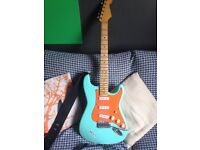 Warmoth neck custom built strat, holy grail pickups, relic