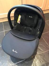 Silver Cross car seat & isofix base