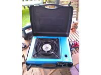 portable camping gas stove plus gas canister