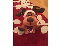 Chocolate Moose /Reindeer Christmas Decoration / Gift - NEW