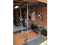 Squat / Power Rack BodyMax CF375 with cable pulley & accessories