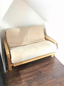 2 Seat futon sofa bed - Detroit