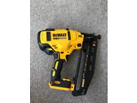 Dewalt brushless nail gun 2018 model brand new