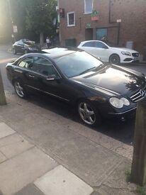 Mercedes clk 270 cdi auto diesel 2003 satnav sunroof leather amg alloys xenon's