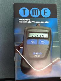 New TME handheld thermomether