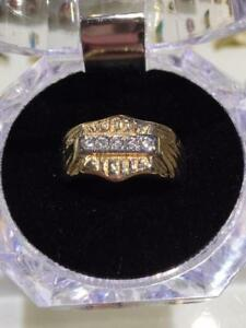 "#1287 CUSTOM MADE ""MOTORCYCLES"" DIAMONDS RING. SIZE 8 1/2. APPRAISED VALUE $2,100, OUR LOW PRICE $545"