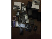 **JOBLOT** of I Phones including Blackberry & others