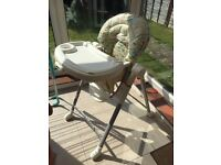 Highchair very good condition