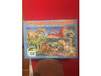 Dinosaurs Of The Word Jigsaw Book