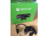 Microsoft Xbox One 1 console 500GB in really good condition - Boxed