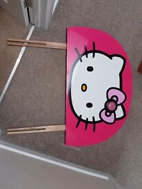 3ft single Hello kitty headboard