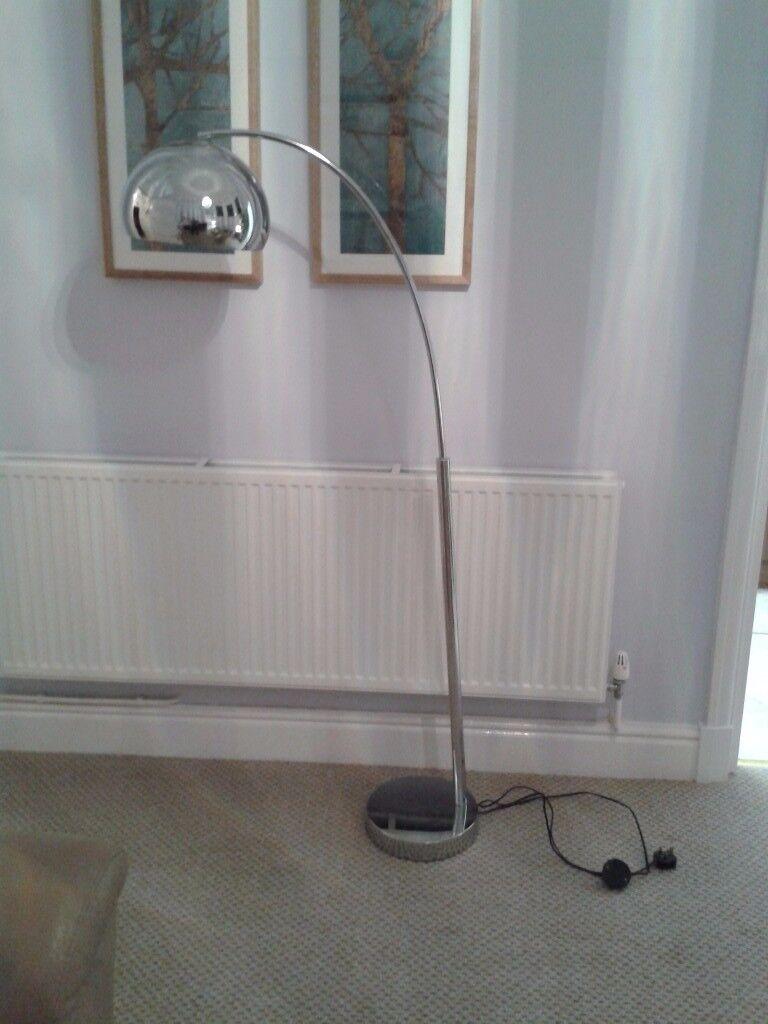 Modern dome floor lamp