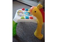 Brand new Fisher Price activity table.