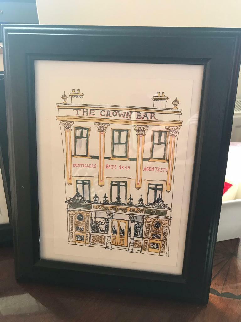 Belfast a5 prints x2