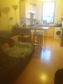 Double room in 2 bedroom flat in Battersea available now £650pcm. Cat lives here too.