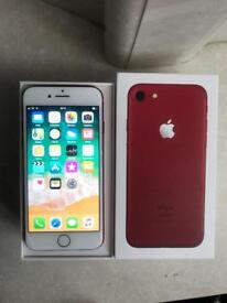 iPhone 7 Unlocked Red 256GB Boxed