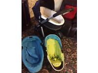 Baby pushchair