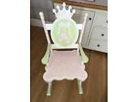 Swan lake rocking chair