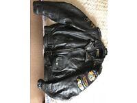 Vintage American Motorcycle Jacket