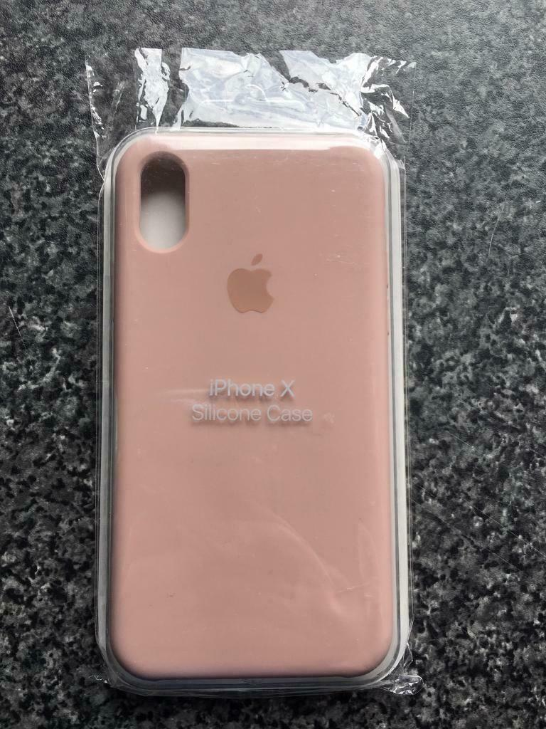 pretty nice fd89b 69994 Brand New iPhone XS Max Silicone Case - Pink Sand   in ...