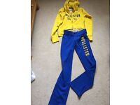 XS HOLLISTER HOODIE AND JOGGERS 12 YEARS+