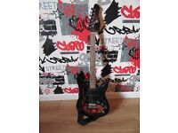 Jaxville full size electric guitar and amp