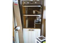 Double Electric Oven Hotpoint in Housing Unit