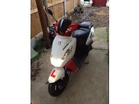 Peugeot kisbee sport line 50cc moped