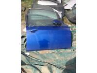 Ford mondeo st 06 driver door blue