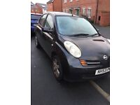 Nissan micra 1.4 Petrol manual