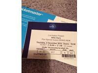 Biffy Clyro Tickets x 2 London O2, 08.12.16