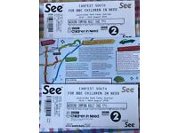 REDUCED - Carfest South Weekend Camping Tickets x 2