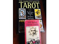 Vintage Tarot cards with matching guidebook