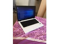 Hp laptop 15.6 inch win10 500g hard drive 4 g ram ms office web cam DVD hdmi port selling as got ma