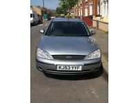 FORD MONDEO GRAPHITE 2003 1.8cc MANUAL PETROL 5 DOOR HATCHBACK