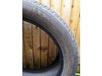 Michellin - LATITUDE SPORT 3 - 255 45 R20 101W AO - 5mm tread - £30
