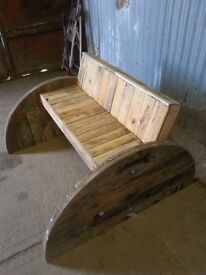 UNUSUAL AND INDIVIDUAL GARDEN BENCH