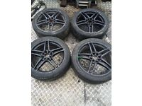 X4 Multi fit Vauxhall alloys and tyres corsa combo etc