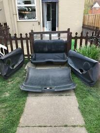 Toyota Supra mkiv rear set of seats and roof lining and front door panels needs a good clean