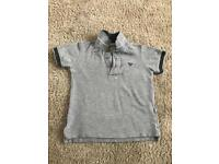 Armani junior t shirt kids size 2a genuine