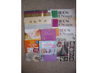 Collection of various craft materials/books/paper pattern. £8 ovno the lot. Willing to separate.