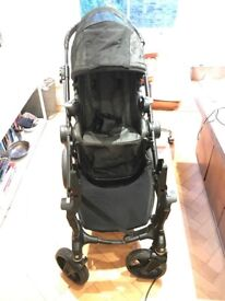 Citi Select Double Seat Buggy/ Black