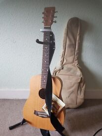 Tanglewood Parlour Guitar (3/4 size) and Accessorys