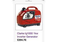Clarke Generator only used twice