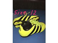 Football boots size 12 sold!!!