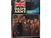 Hardback Dads Army Annual 1974