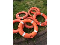 Life Buoy Saftey Ring Garden Ornaments - Lots Available
