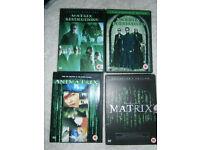 Matrix DVD Bundle
